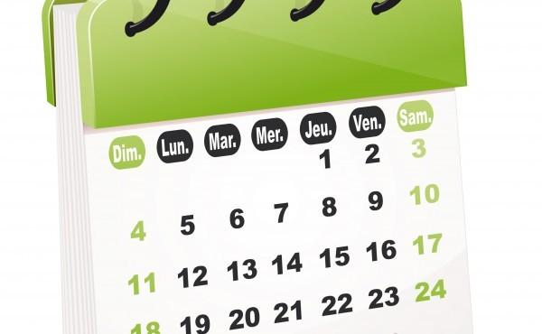 MOUVEMENT 2021 : calendrier